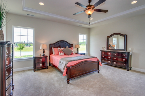 Master suite in Grassfield Meadows