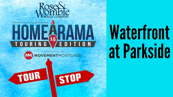 #RWNewHomes Homearama Tour Stop Waterfront at Parkside