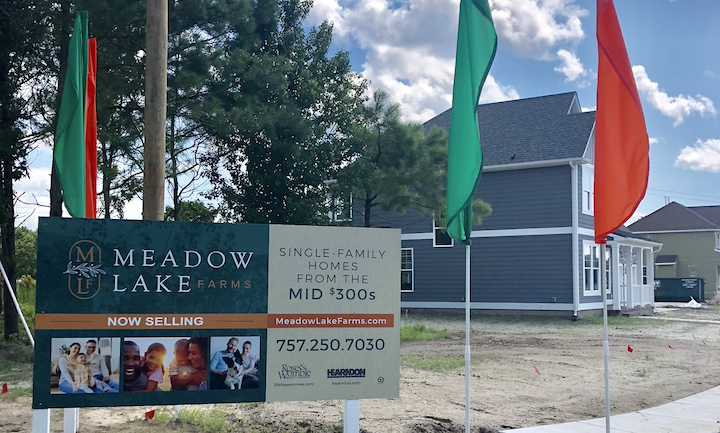 #AskUs About Hearndon Construction at Meadow Lake Farms in Chesapeake
