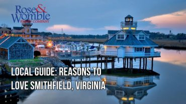 Local Guide: Reasons to Love Smithfield, Virginia