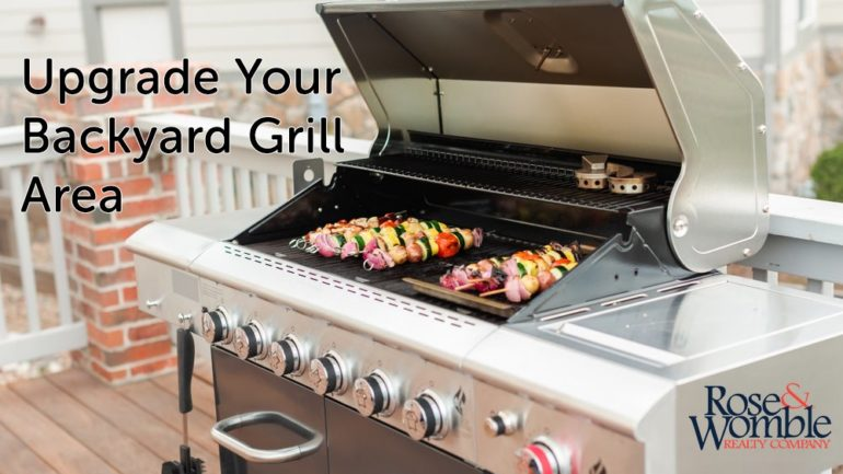 Upgrade Your Backyard Grill Area